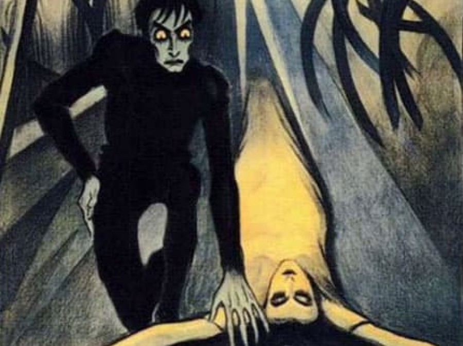 "Poster of ""Das Kabinet des Dr Caligari"""