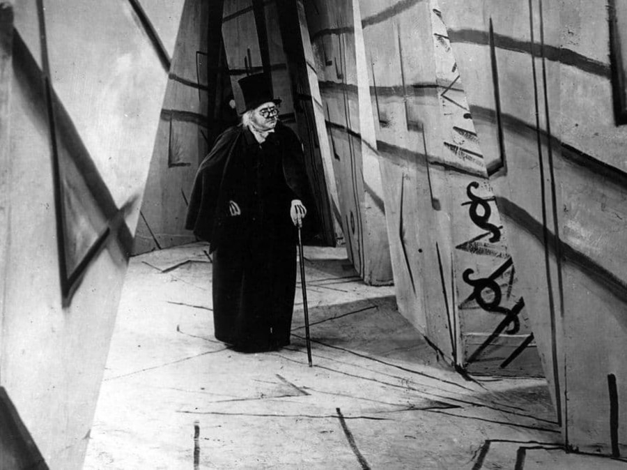 "Film still from ""The Cabinet of Dr Caligari"""