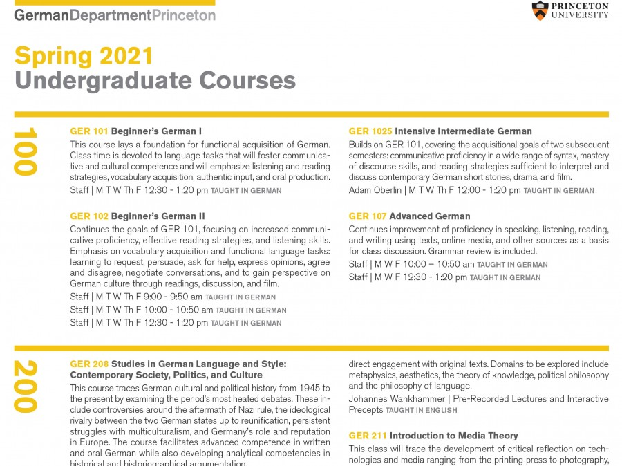 PDF image description of courses