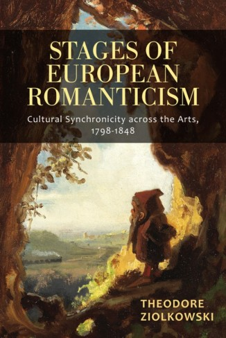 Book cover of Stages of European Romanticism